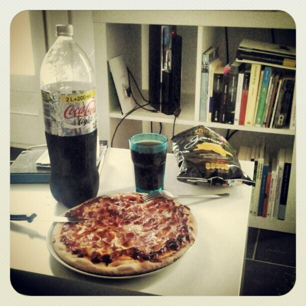 Alimentación de un escritor