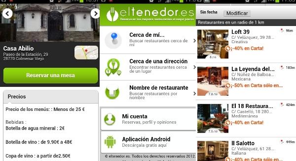 App eltenedor.es