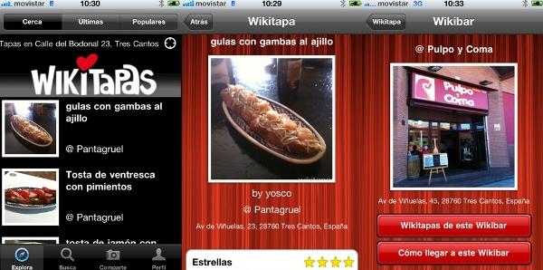 App wikitapas