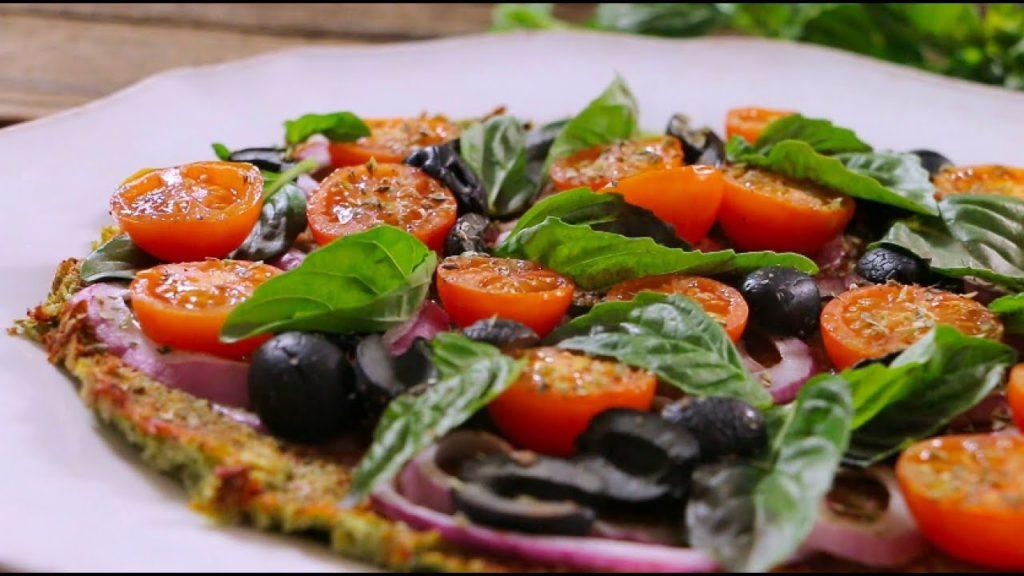pizza con cebolla morada